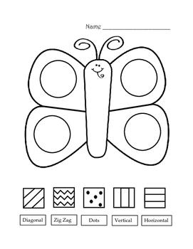 Spring Butterfly Glyph