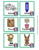 Spring Butterfly Homophone Words Match Game