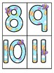 Spring Butterfly Large Numbers 0-20 - Make Activities and Room Decor