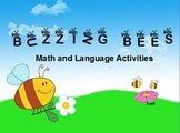 Spring Buzzing Bees Activities FULL version