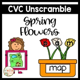 Small Group Interventions Set: Spring CVC Cards