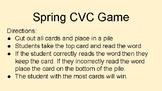 Spring CVC Game