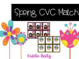 Spring CVC Match Game {Literacy Center}