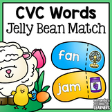 Spring CVC Word Jelly Beans