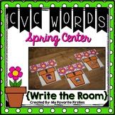 CVC Write the Room Center {Spring Edition}