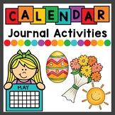 Spring and Summer Calendar Activities for Math Meeting
