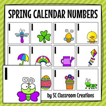 Spring Calendar Cards