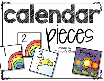 Spring Calendar Pieces -- AAB Pattern