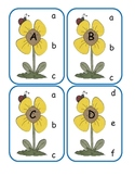 Spring Capital to Lowercase Clip Cards