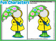 Spring Card-Making Kit! Poems, Pictures, Text, & Instant Umbrella Character!