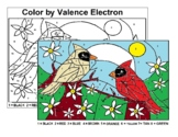 Spring - Cardinals - Color by Valence Electrons