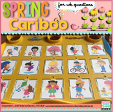 Cariboo Spring {for WH- questions & language therapy}