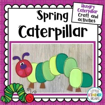 Spring Caterpillar Craft and Activities