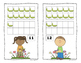 Spring Caterpillar and Butterfly 10 Frame Counting Mats Bundle Set (1-20)