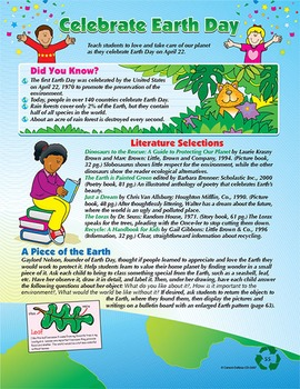 Spring Celebrate Earth Day Grades 1-3