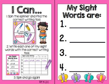 Spring Center Activities (Literacy)