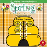 Spring Center Games   Tic-Tac-Toe and Memory Match Games