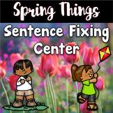 Spring Center ~ Sentence Fixing