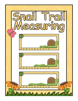 Spring Center ~ Snail Trail Measuring