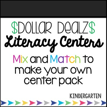 Kindergarten Spring Consonant Blends Center