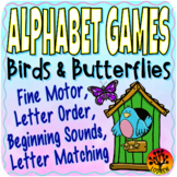 Spring Centers Alphabet Games Literacy Centers Birds Butte