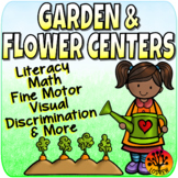 Garden Centers Spring Activities Flowers Literacy Math Fine Motor Plants
