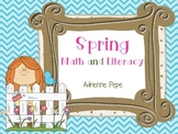 Spring Centers: Math and Literacy