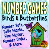 Spring Centers Number Games Math Centers Birds Butterflies