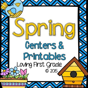 Spring Centers & Printables Pack {April & May}
