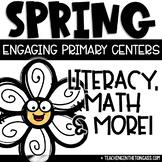 Spring Activities | Math & Literacy Centers | Bunny Craft