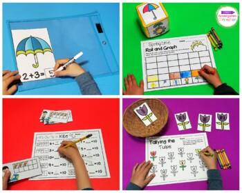 Spring Centers and Activities for Pre-K/Kindergarten