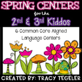 Spring Centers for the Second and Third Kiddos (6 Common C