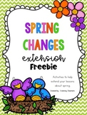 Spring Changes: Extension FREEBIE