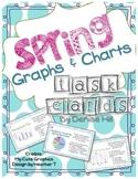 Spring Data Charts & Graphs Task Cards