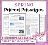 Spring (Cherry Blossom Festival): Paired Passages/Texts