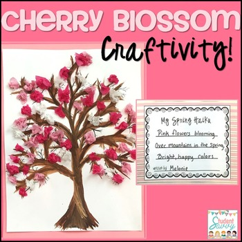 Spring Cherry Blossom (Sakura) Tree Craftivity