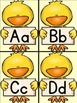 Spring Chick Alphabet Letter Flashcards