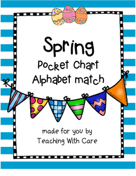 Spring Chick Alphabet Match
