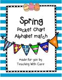 Spring Chick Alphabet Match