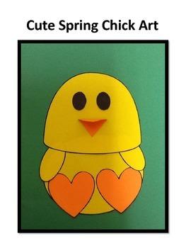 Spring Chick Art