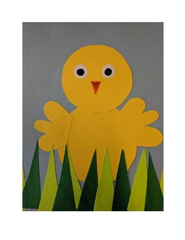 Spring Chick Collage