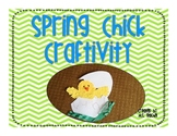 Spring Chick Craft Activity