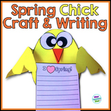 Spring Chick Craft and Writing Project