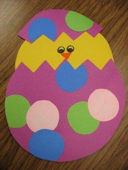Spring Chick Craftivity