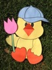 Spring Chick Craftivity for Boy or Girl Chick with Writing Prompt : Easter