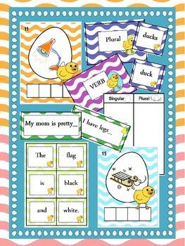 Spring Chick Word Work & Literacy Activities