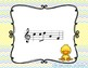 Spring Chick - Interactive Practice Game for Notation {do} 5 line staff