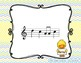 Spring Chick - Interactive Practice Game for Notation {la} 5 line staff