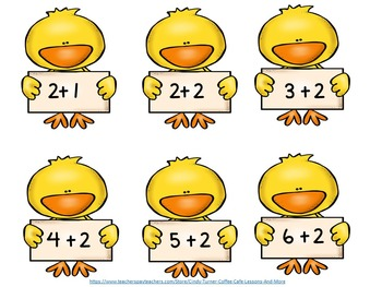 Spring Chick Math Big Ole Bundle of Games