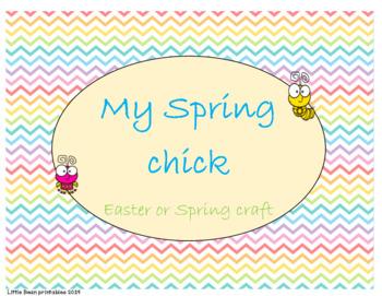 Spring chick craft
